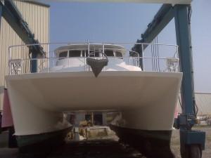 Safe at the Boat Yard