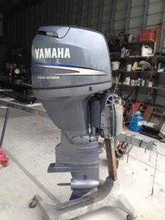 yamaha-outboard-on-stand
